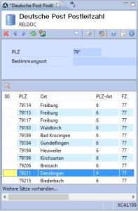PLZ-Verzeichnis