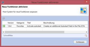 Version 1.9.5 des Clients für das trend-ERP-System – Neue Funktionen aktivieren