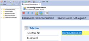 Vergrößerungsstufe | neu in der Version 1.9.9 des Clients für das trend-ERP-System