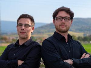 Nico Wickersheim und Christopher Trefzer