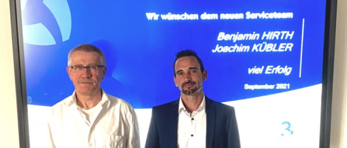v.l. Joachim KÜBLER, Benjamin HIRTH